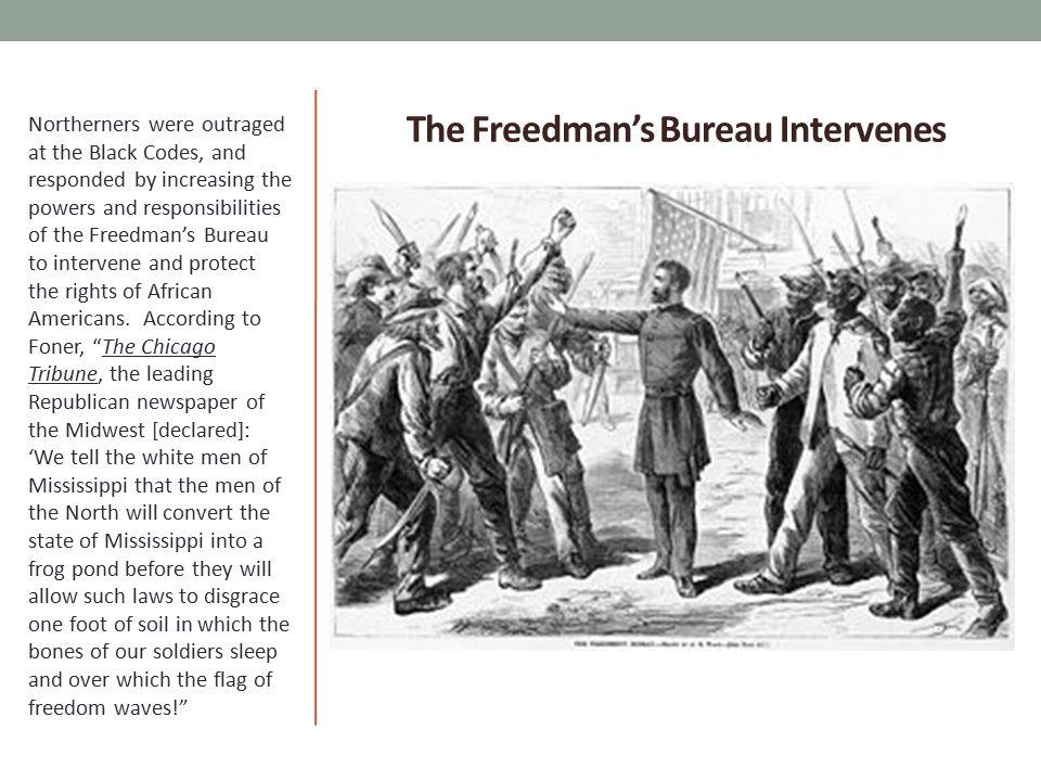 The Freedman's Bureau Intervenes
