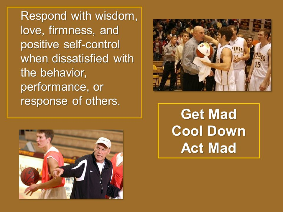 Get Mad Cool Down Act Mad