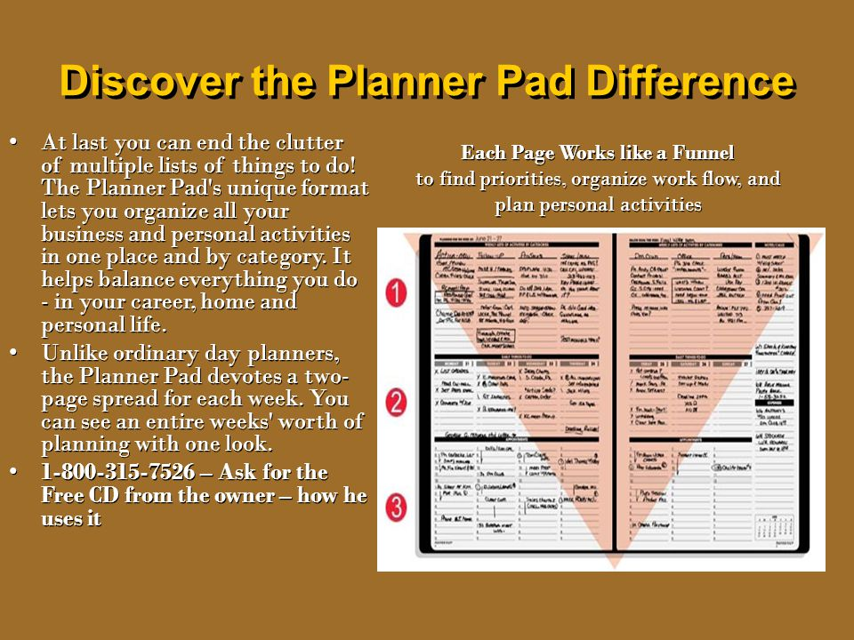 Discover the Planner Pad Difference