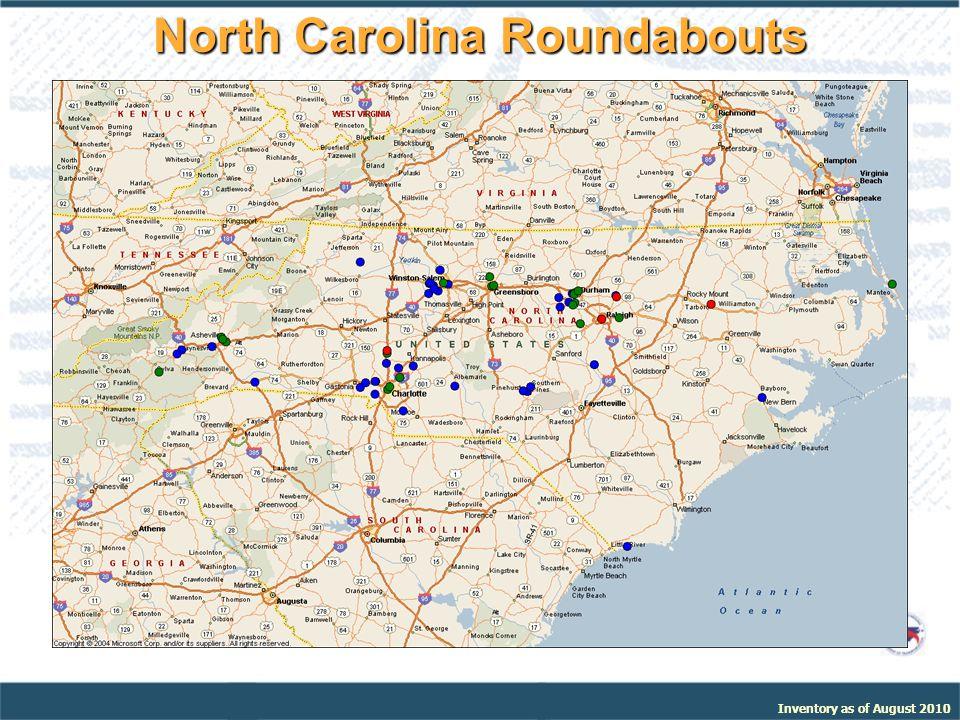 North Carolina Roundabouts