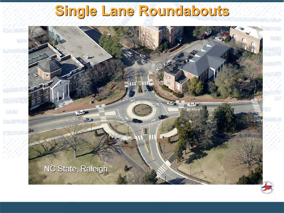 Single Lane Roundabouts
