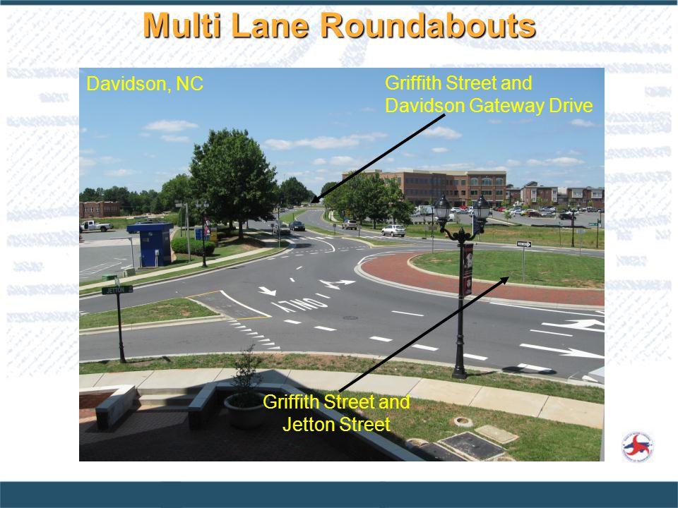 Multi Lane Roundabouts