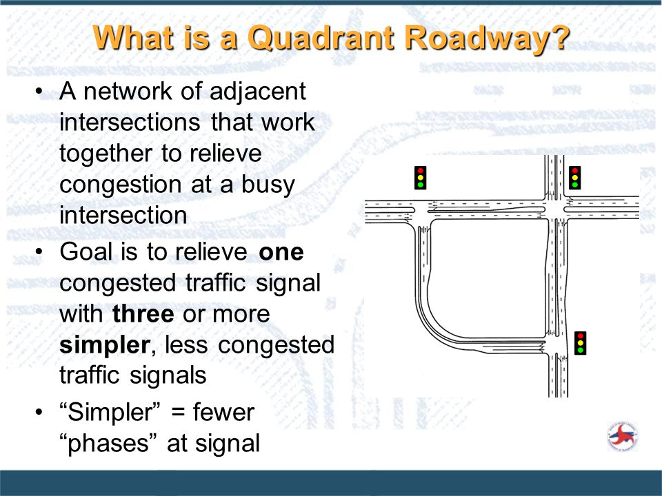 What is a Quadrant Roadway