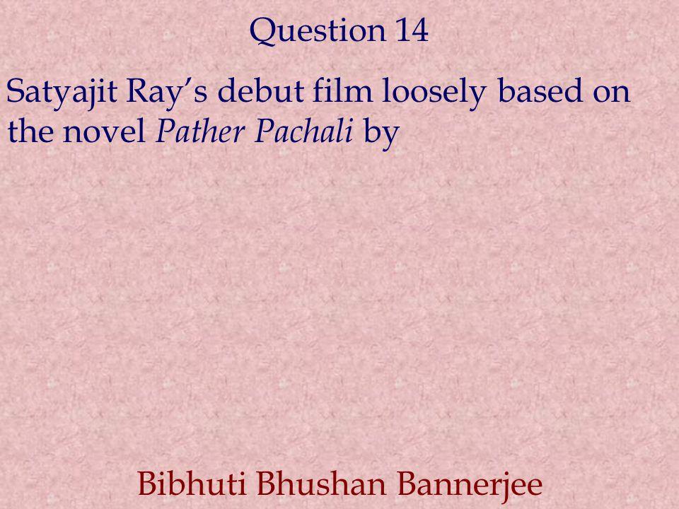 Bibhuti Bhushan Bannerjee