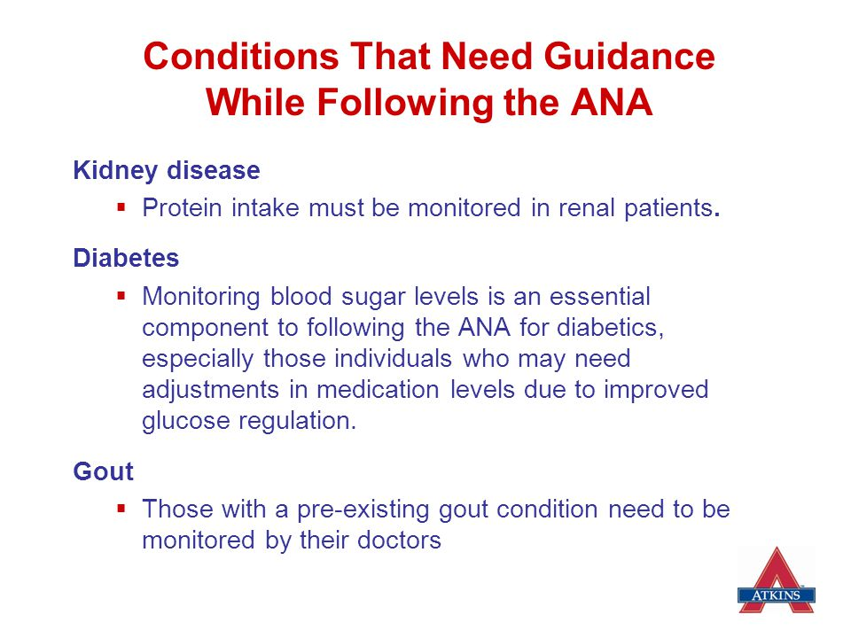 Conditions That Need Guidance While Following the ANA