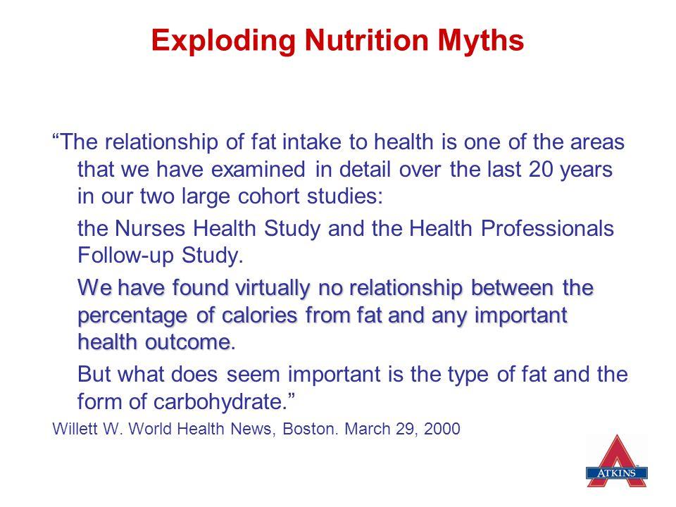 Exploding Nutrition Myths
