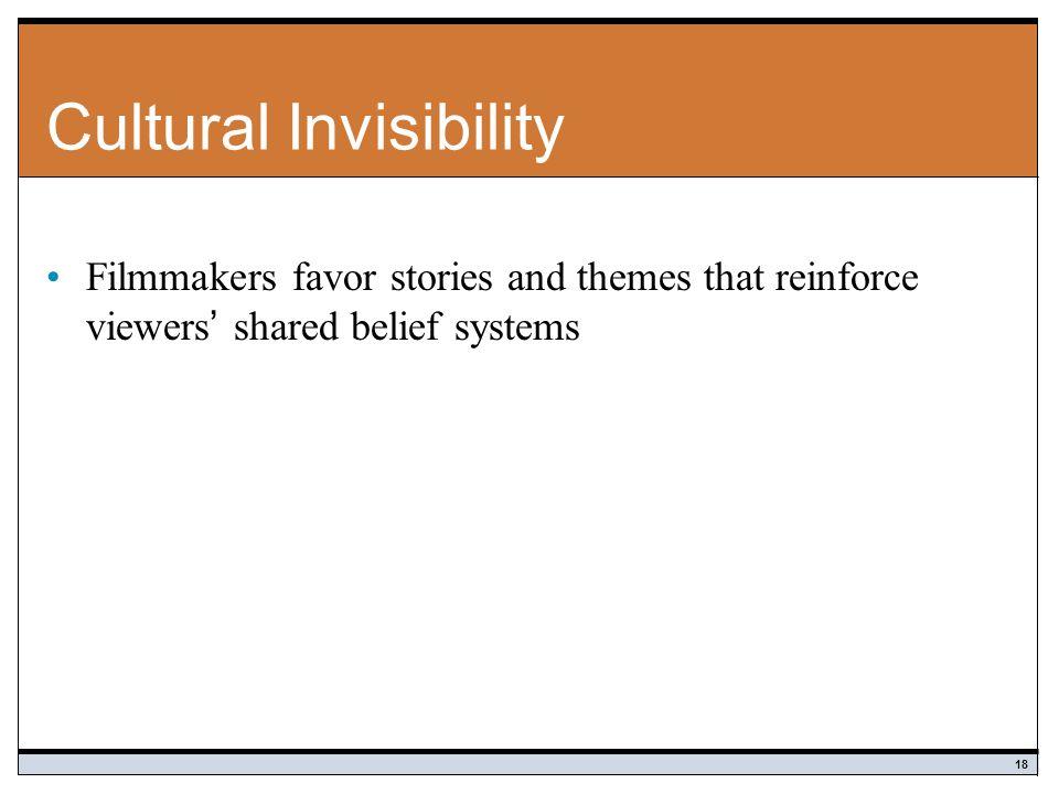 Cultural Invisibility