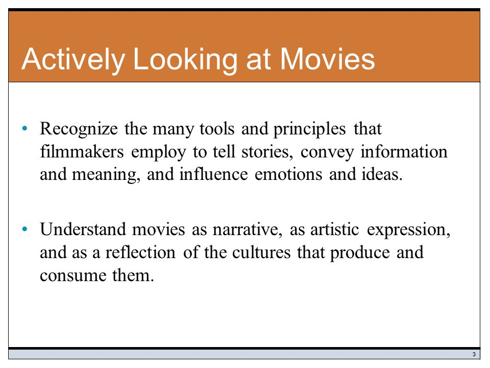 Actively Looking at Movies