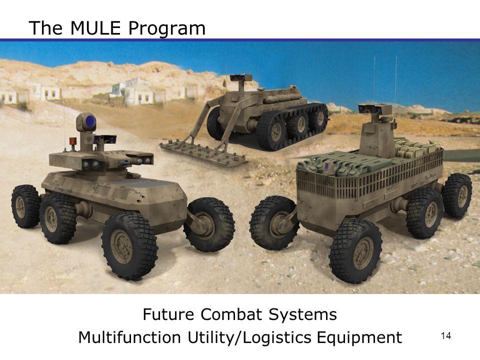 Multifunction Utility/Logistics Equipment