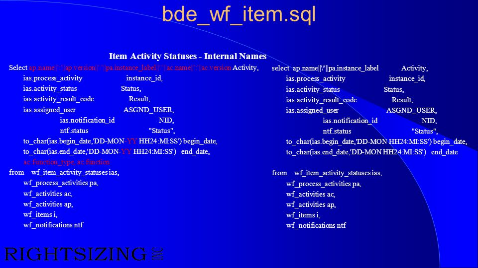 bde_wf_item.sql