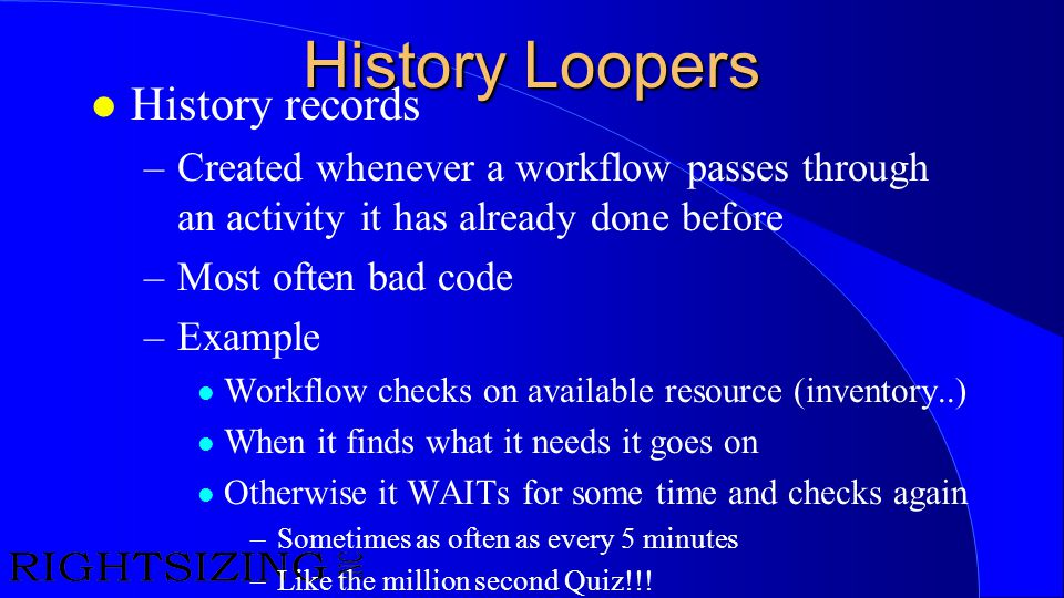History Loopers History records