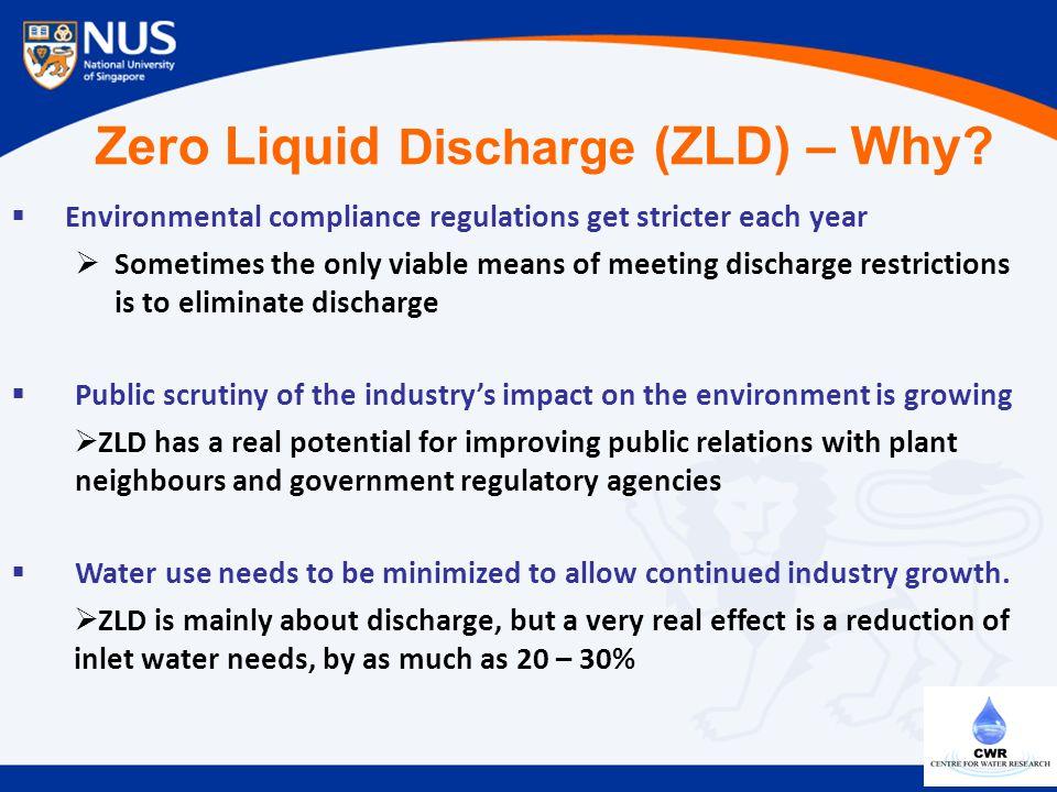 Zero Liquid Discharge (ZLD) – Why