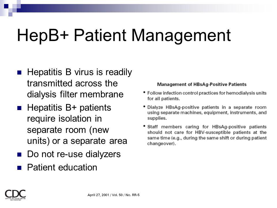 HepB+ Patient Management