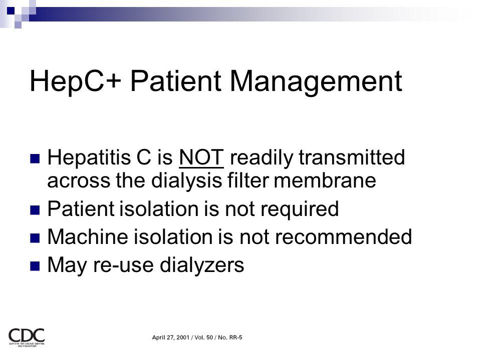 HepC+ Patient Management