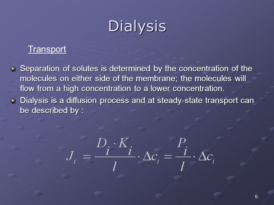 Dialysis Transport.