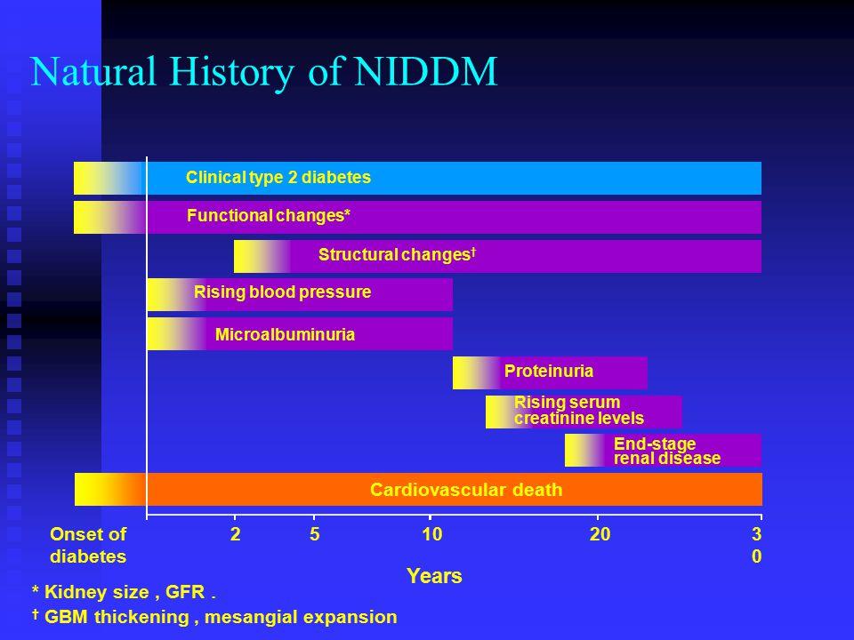 Natural History of NIDDM
