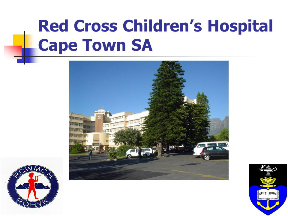 Red Cross Children's Hospital Cape Town SA