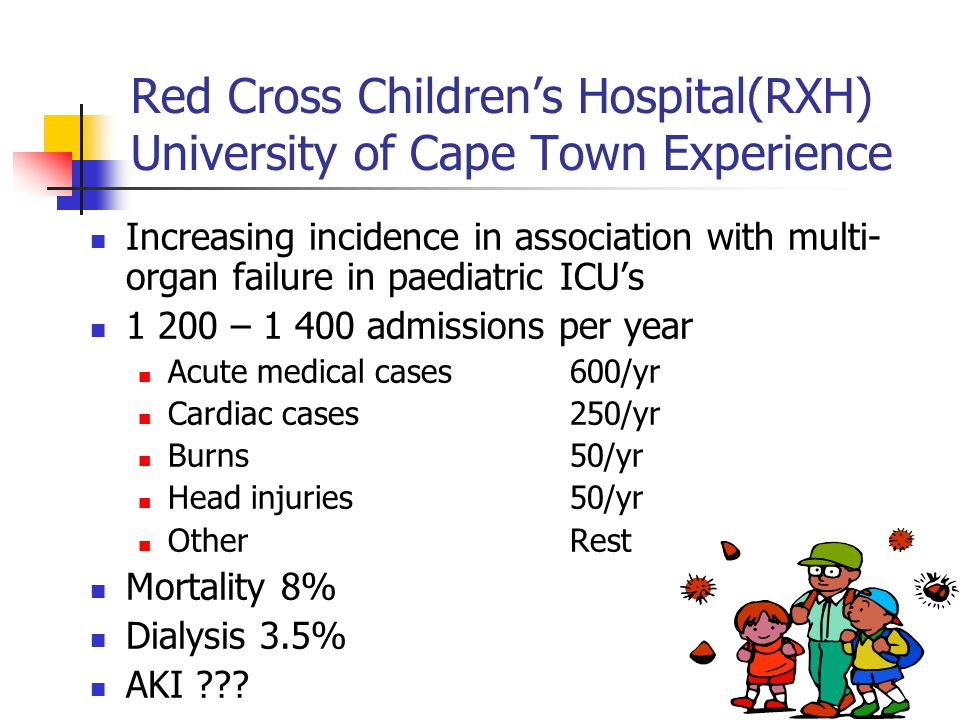 Red Cross Children's Hospital(RXH) University of Cape Town Experience