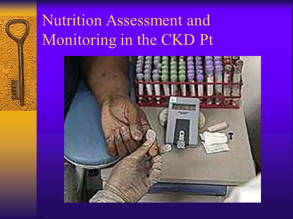 Nutrition Assessment and Monitoring in the CKD Pt
