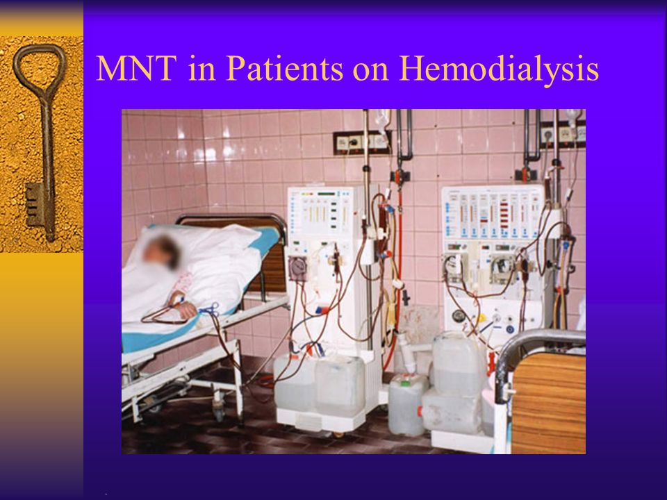 MNT in Patients on Hemodialysis