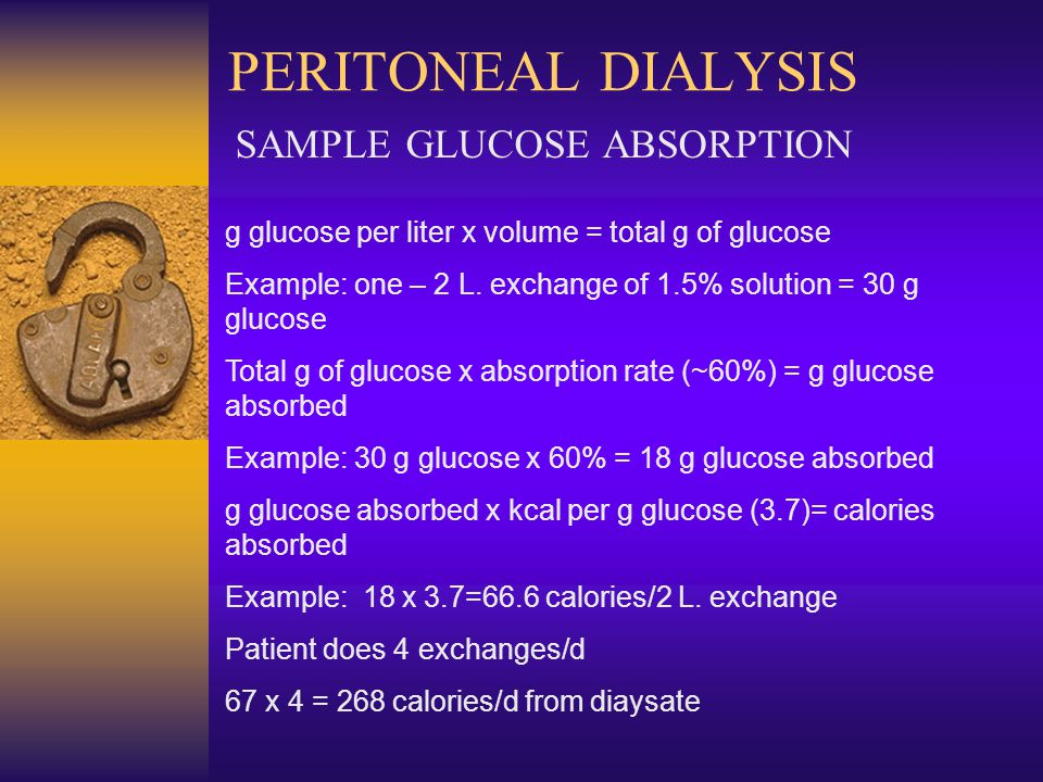 SAMPLE GLUCOSE ABSORPTION