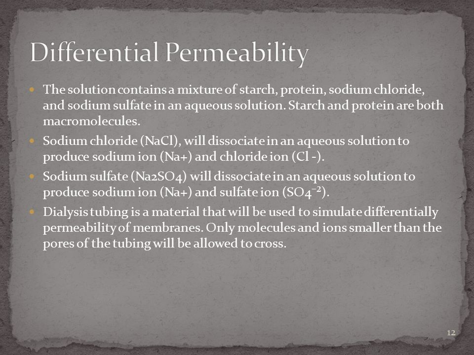 Differential Permeability