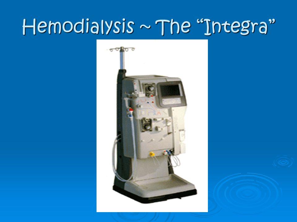Hemodialysis ~ The Integra