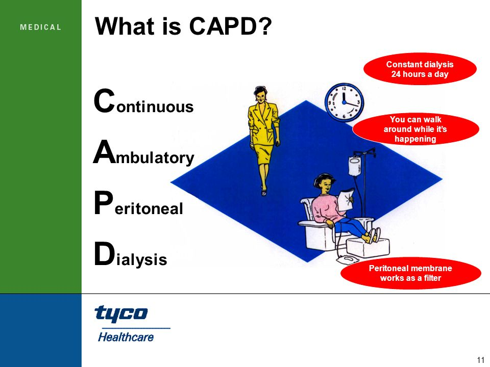 Continuous Ambulatory Peritoneal Dialysis What is CAPD