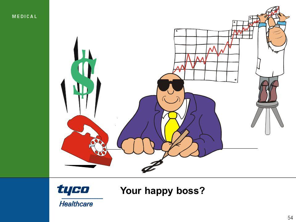 Your happy boss