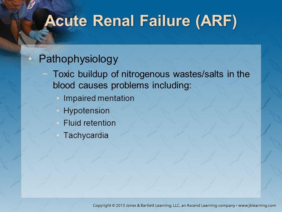 Acute Renal Failure (ARF)