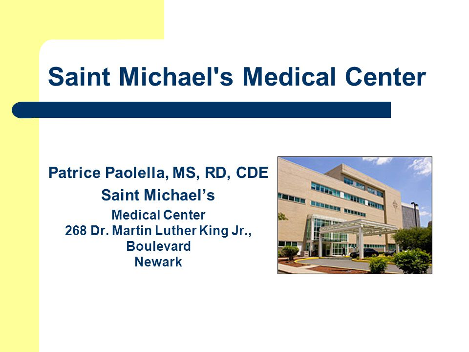 Saint Michael s Medical Center