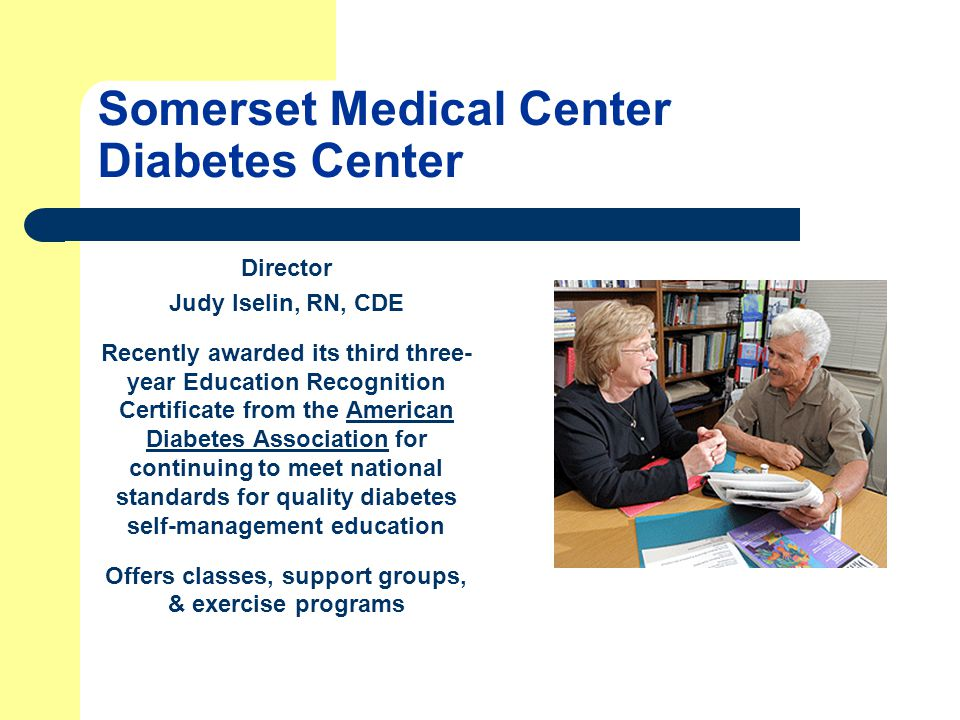 Somerset Medical Center Diabetes Center