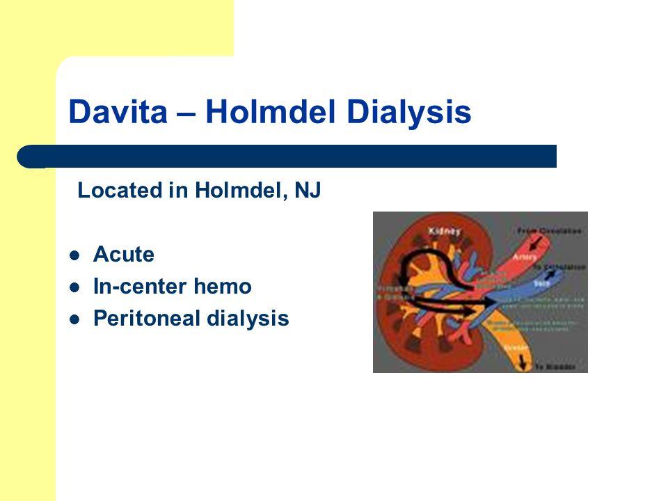 Davita – Holmdel Dialysis