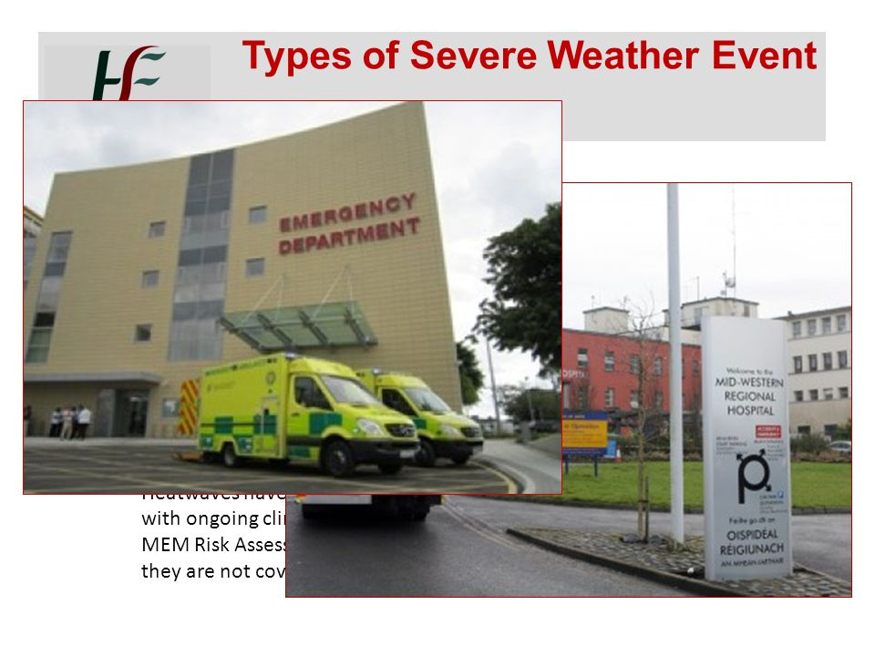 Types of Severe Weather Event