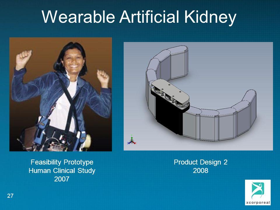 Wearable Artificial Kidney