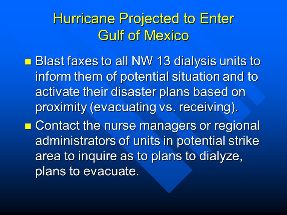 Hurricane Projected to Enter Gulf of Mexico