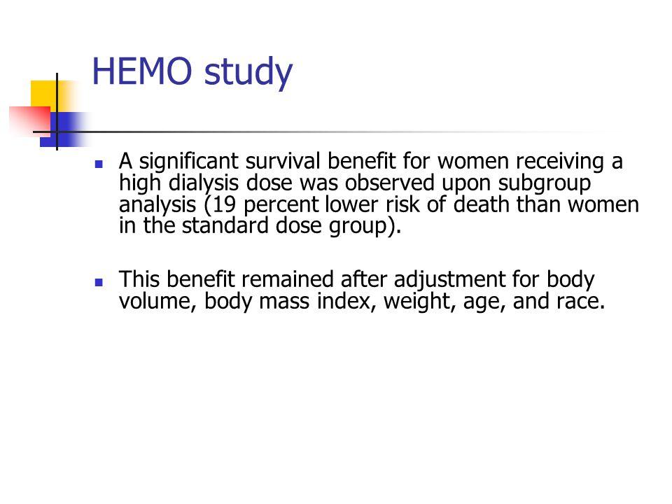 HEMO study