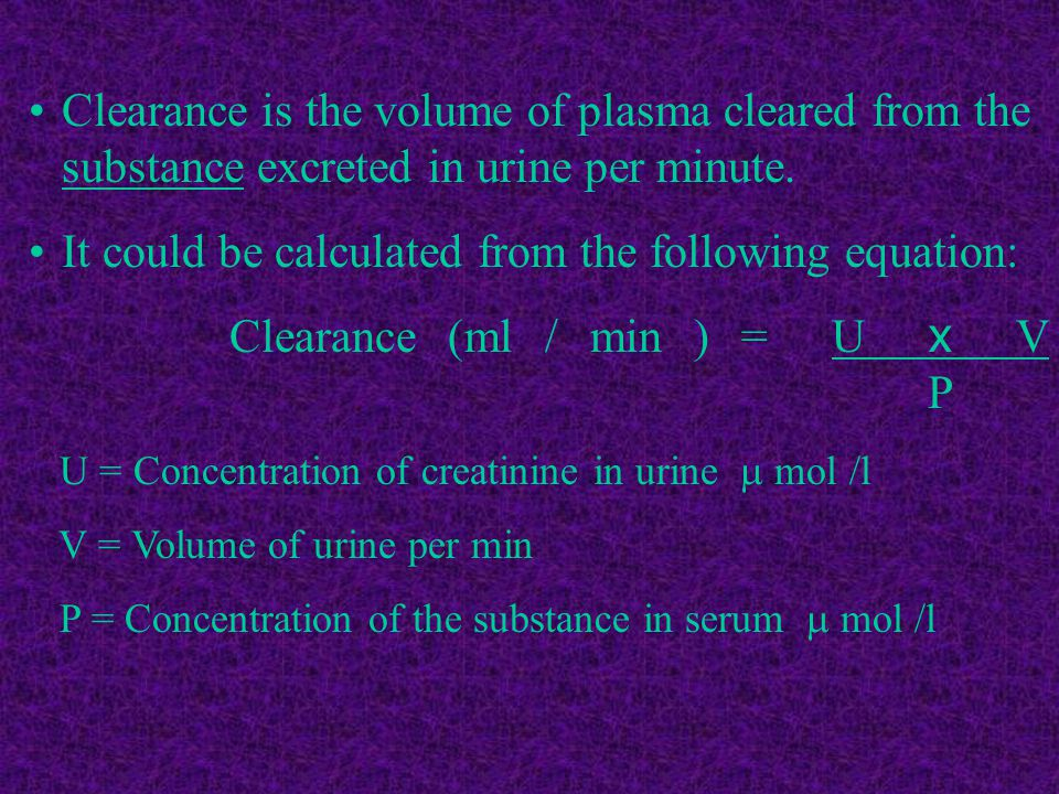 It could be calculated from the following equation: