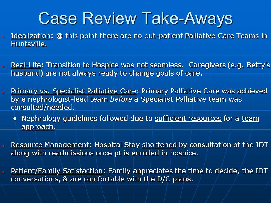 Case Review Take-Aways