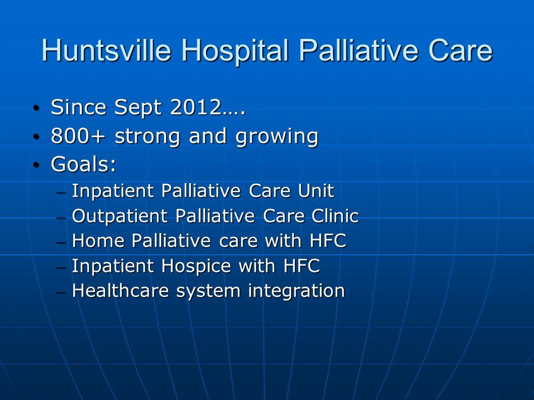 Huntsville Hospital Palliative Care