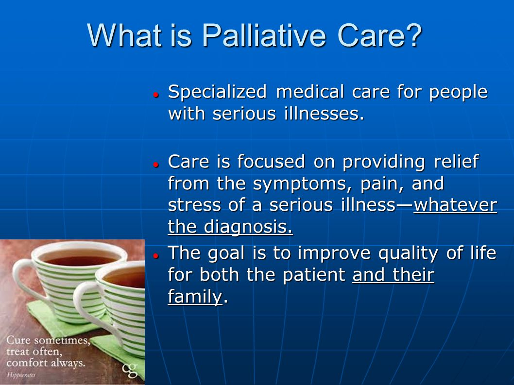 palliative care and quality of life essay A point of access to reports, papers, event materials, and other resources about end-of-life and palliative care.
