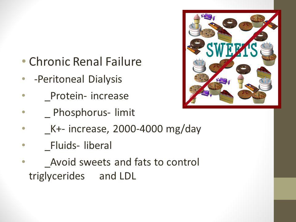 Chronic Renal Failure -Peritoneal Dialysis _Protein- increase