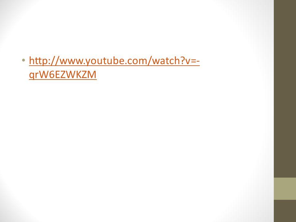 Acute Renal Failure http://www.youtube.com/watch v=-qrW6EZWKZM