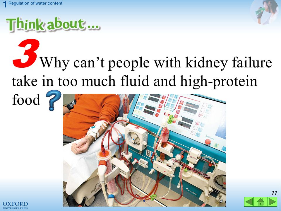 3 Why can't people with kidney failure