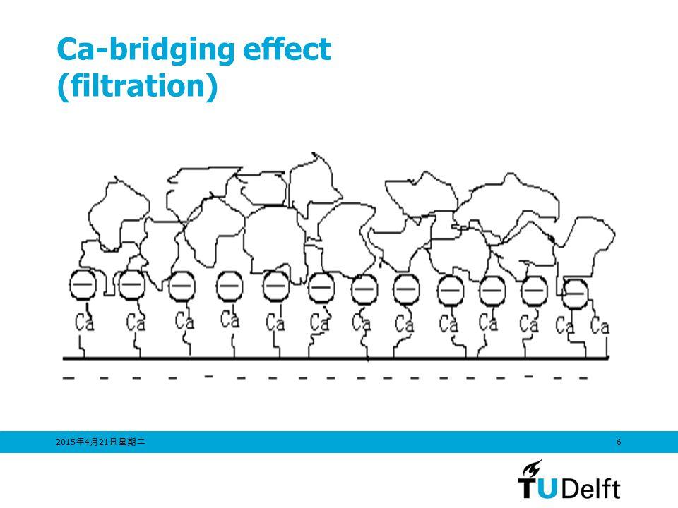 Ca-bridging effect (filtration)