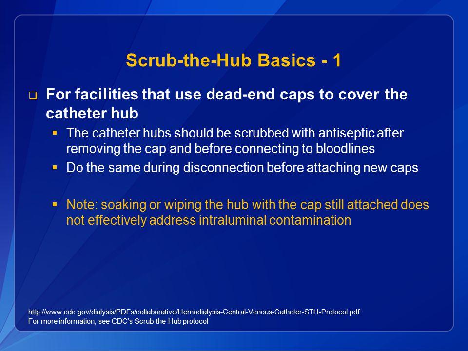 Scrub-the-Hub Basics - 1