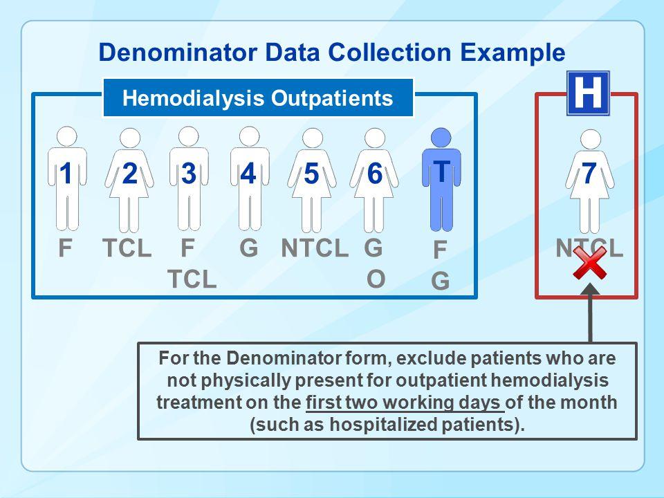 Denominator Data Collection Example