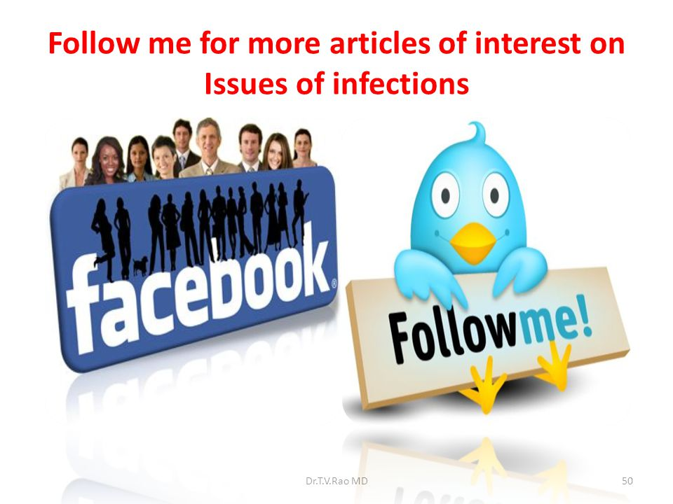 Follow me for more articles of interest on Issues of infections