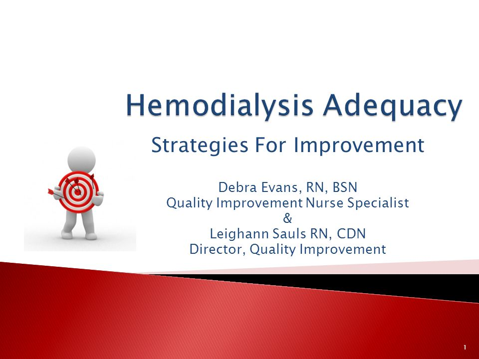 Hemodialysis Adequacy