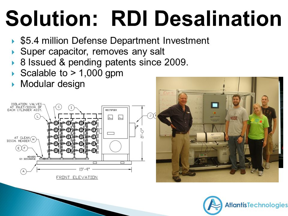 Solution: RDI Desalination